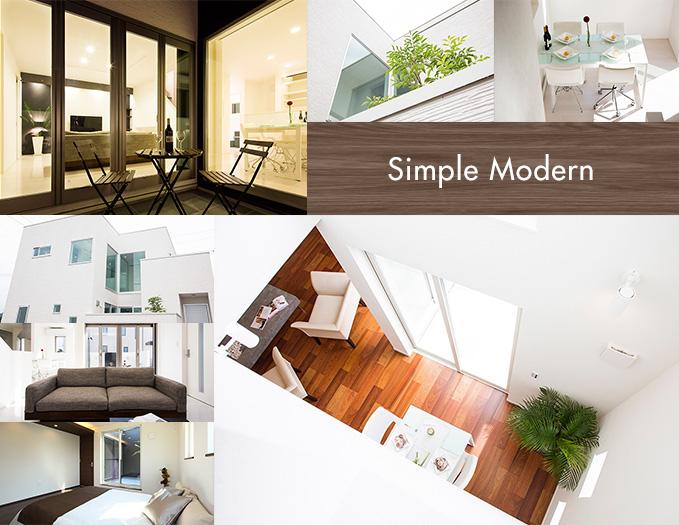 simple modern